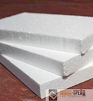 Пенопласт листовой ПСБС-25 1000х500х100,50,40,30,20 мм