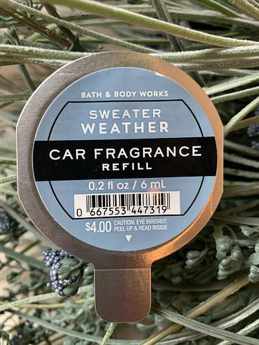 "Аромат в машину ""Осенняя погода"" Bath and Body Works"