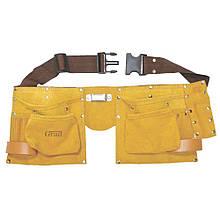 Пояс слесарный (кожаный) 11 карманов GRAD (9450765)