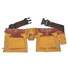 Пояс слесарный (кожаный) 12 карманов SIGMA (9450351)