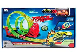 Игрушечный набор Гоночный трек Тройная петля 300 см. Maya Toys 68803