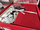 Байкове постільна білизна євро розмір BELIZZA краща ціна натуральна бавовна, фото 2