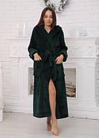 Халат женский махровый длинный (халат банный женский), фото 1