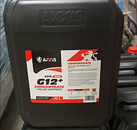Антифриз-концентрат (G12+) красный, AXXIS ECO, 5 литров -80 (пр-во AXXIS)