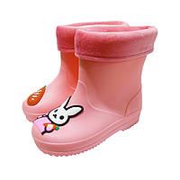 Сапоги резиновые Class Shoes для девочек Зайка (р.25,27,29)