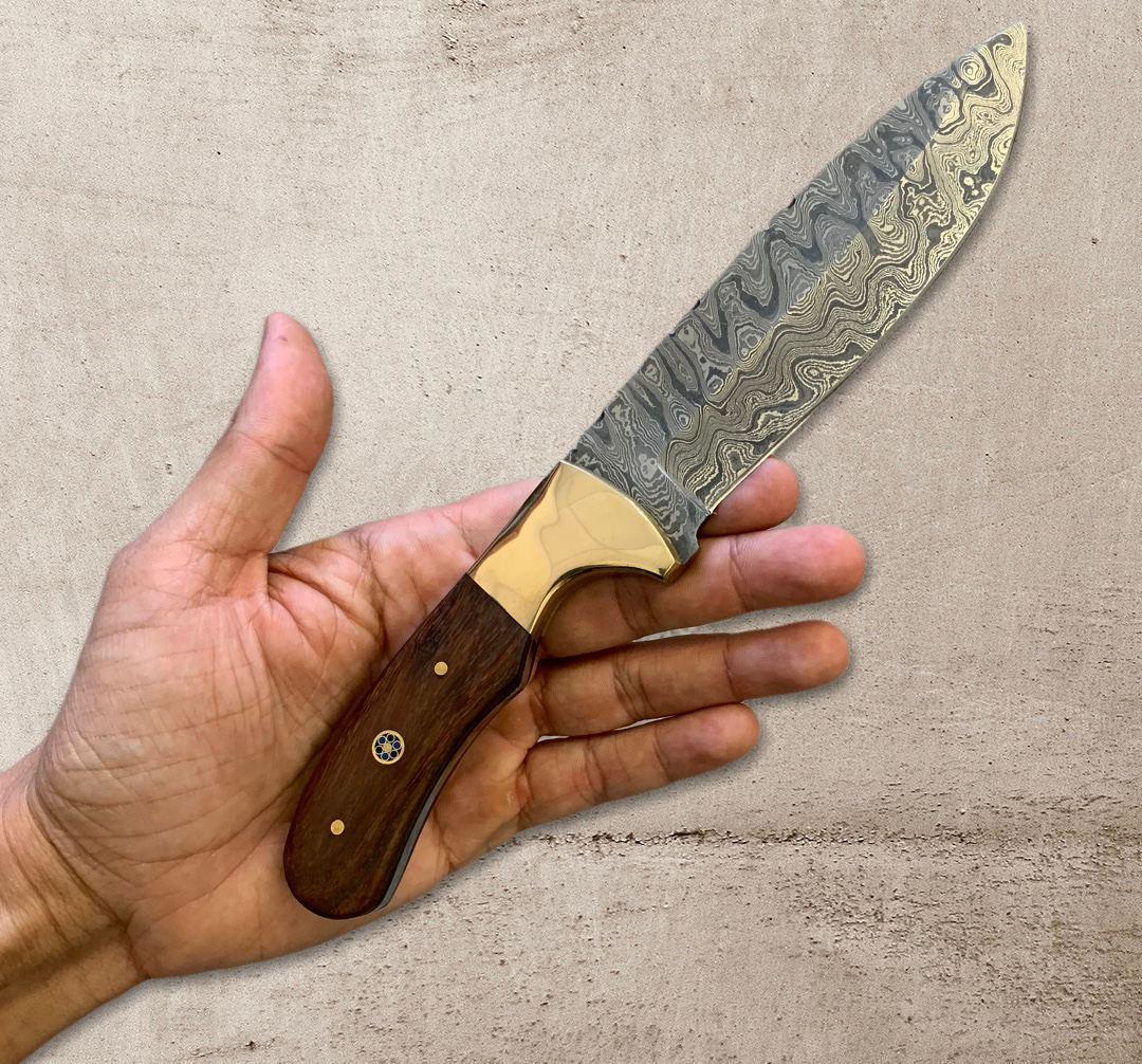 """Нож """"Сирийский Воин №3"""" из дамасской стали"""