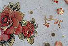 Мягкое стекло Силиконовая скатерть с рисунком на стол Soft Glass (Толщина 1.5мм) Красные розы, фото 2