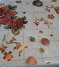 Мягкое стекло Силиконовая скатерть с рисунком на стол Soft Glass (Толщина 1.5мм) Красные розы, фото 4