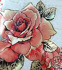 Мягкое стекло Силиконовая скатерть с рисунком на стол Soft Glass (Толщина 1.5мм) Красные розы, фото 6