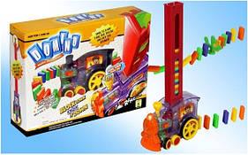 Детская игрушка Паровозик с Домино Intelligence Domino