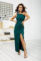 Нарядное платье через одно плечо новинка 2020, фото 1