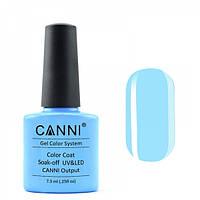 Гель-лак CANNI 254 небесный светло-голубой, 7,3 ml, фото 1