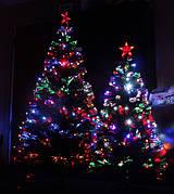 Светодиодные (светящиеся, оптоволоконные) елки