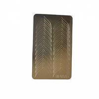 Металлизированные наклейки CANNI M-001 золото