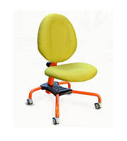 Детское кресло Pondi Эрго, зеленая обивка