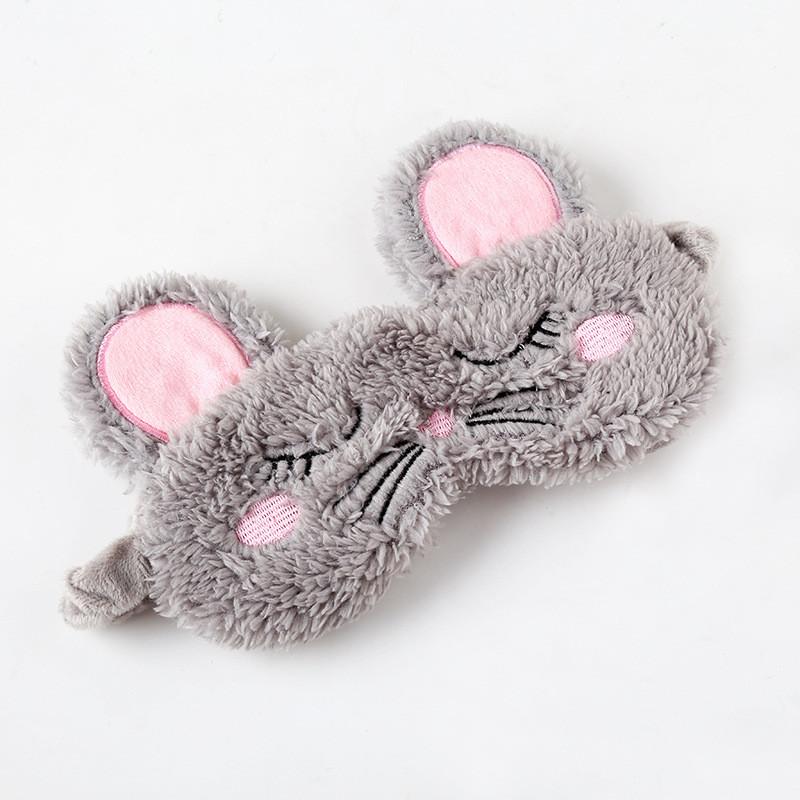Маска для сну мишка