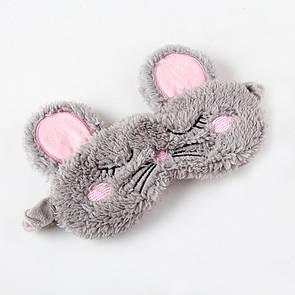 Маска для сна мышка