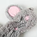 Маска для сну мишка, фото 4