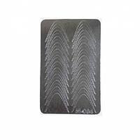 Металлизированные наклейки CANNI M-004 серебро