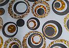 Мягкое стекло Силиконовая скатерть с рисунком на стол Soft Glass (Толщина 1.5мм) Золотые листья, фото 3