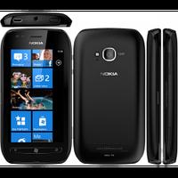 """Міні смартфон Nokia Lumia 710 0.5/8Гб 3.7"""" чорний, фото 1"""