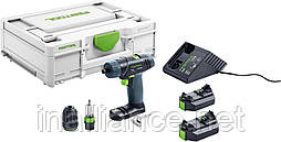 Аккумуляторная дрель-шуруповерт TXS Li 2,6 Plus Festool 576101