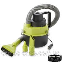 Вакуумний автомобільний пилосос для сухого та вологого прибирання The Black Multifunction Wet and Dry Vacuum, фото 2