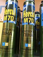 Монтажная пена всесезонная «Hercul» M70 (1000 gr)