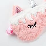 Маска для сна єдиноріг единорог unicorn, фото 2