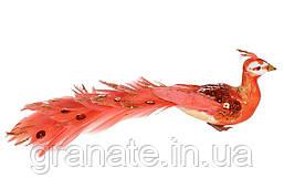 Декоративная птица Павлин 19 см (12 шт)