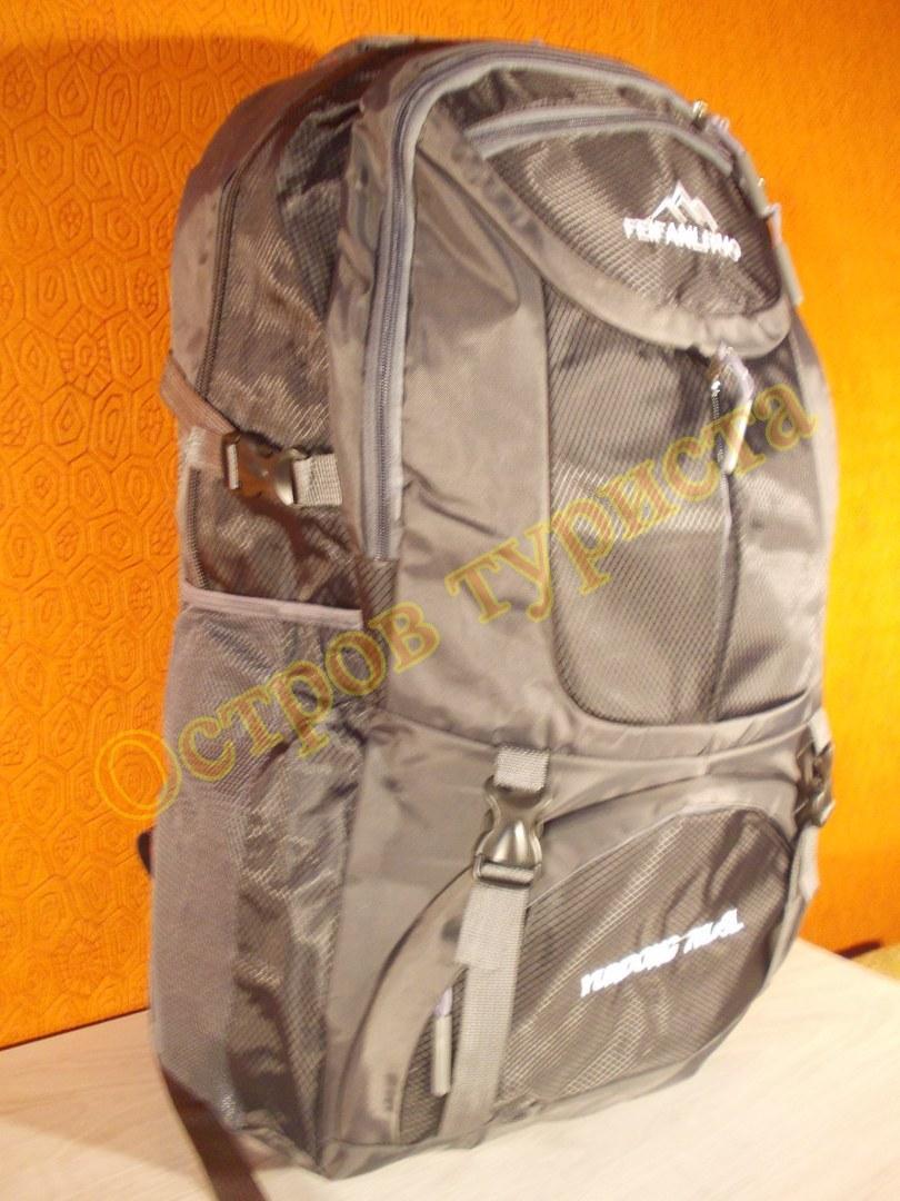 Рюкзак туристичний міський спортивний Feifanlituo 0860 75 літрів чорний