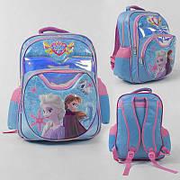 Рюкзак школьный 3D принт, 1 отделение, 2 кармана, мягкая спинка, в п/э /50/ (C43575)