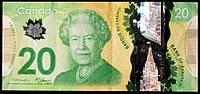 Банкнота Канады 20 долларов 2012 г., фото 1
