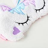 Маска для сна єдиноріг единорог unicorn, фото 3