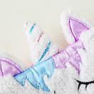 Маска для сну єдиноріг єдиноріг unicorn, фото 5