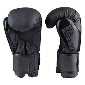 Боксерские перчатки матовые черные 10oz Venum DX-2955, фото 2