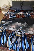 Детское полуторное постельное белье GOLD с Бэтменом