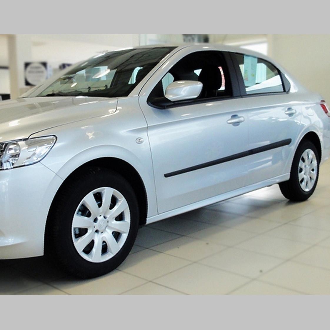 Молдинги на двері для Peugeot 301 2012>