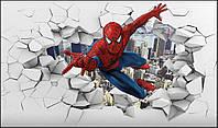 Фотообои человек паук 3D фотообои
