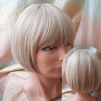 Парик прямое каре термоволос пшеничный блонд 4801t-24H613