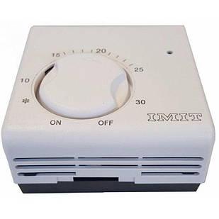 Термостат регулируемый комнатный диапазон 5°C - 30°C.
