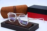 Компьютерные очки, женская оправа для очков 32054 прозрачные