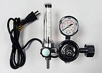 Регулятор расхода CO2/Ar с подогревом и ротаметром