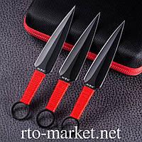 Ножи(сталь) метательные комплект 3 в 1 Кунаи Наруто (Акция)