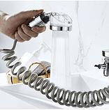 Душевая система на умывальник Modified Faucet With external Shower, фото 5