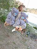 Плюшевый мишка Тедди 130 сантиметров кремового цвета, фото 3