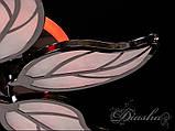 Современная светодиодная люстра 8028/6BHR LED 3color dimmer, фото 8