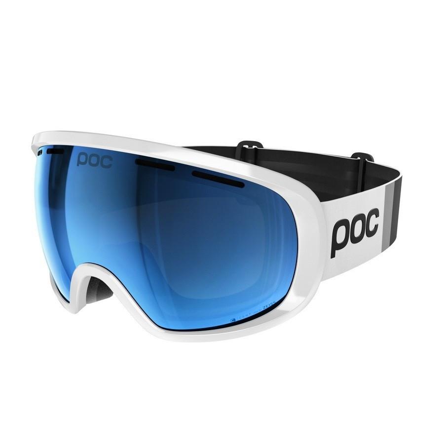 Маска гірськолижна POC Fovea Clarity Comp Hydrogen White/Spektris Blue (PC 404408174ONE1)