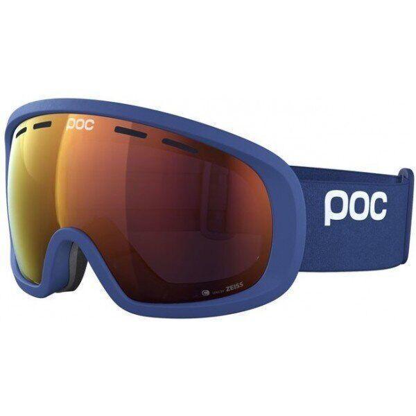 Маска гірськолижна POC Fovea Mid Clarity Lead Blue/Spektris Orange (PC 404088270ONE1)