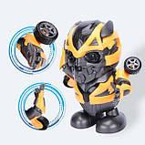 Интерактивная игрушка Танцующий робот Бамблби Dance Hero Bumblebee, фото 8